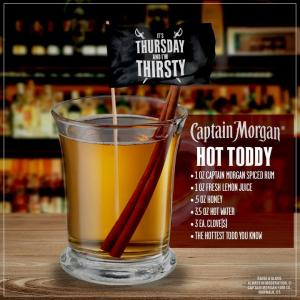 Cap Morgan Hot toddy