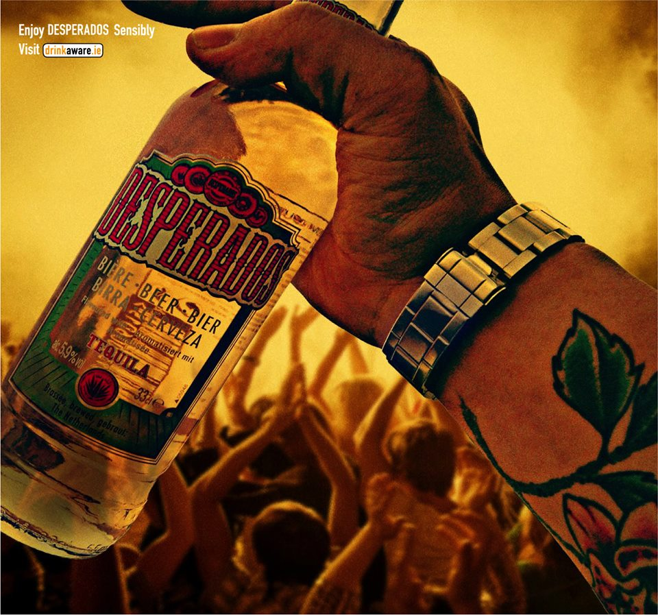 Raise Your Bottle High And Rave Into The Night Desperados Mindaware
