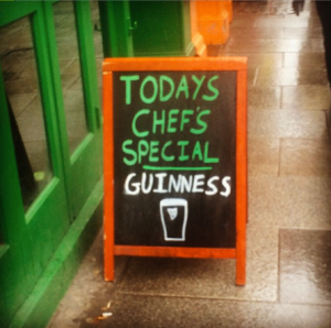 guinness chefs special