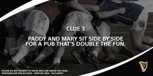 Guinness clue 3