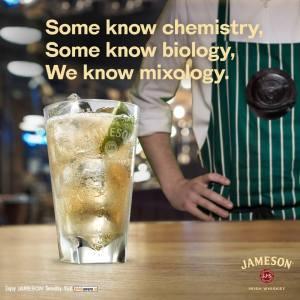 Jameson mixology