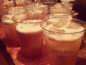 Jameson plastic cups