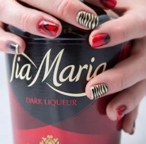 Tia Maria nail art