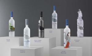 Grey goose designer bottles