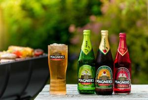 pint botts of Magners