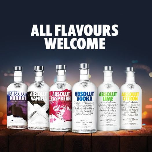 absolut flavours