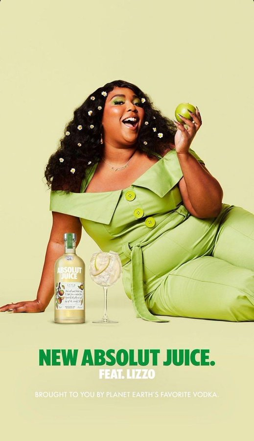 absolut lizzo working as a team